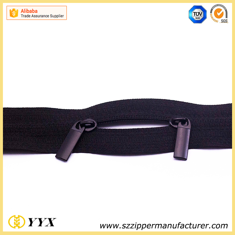 #3 #5 #8 long chain plastic zipper for bags
