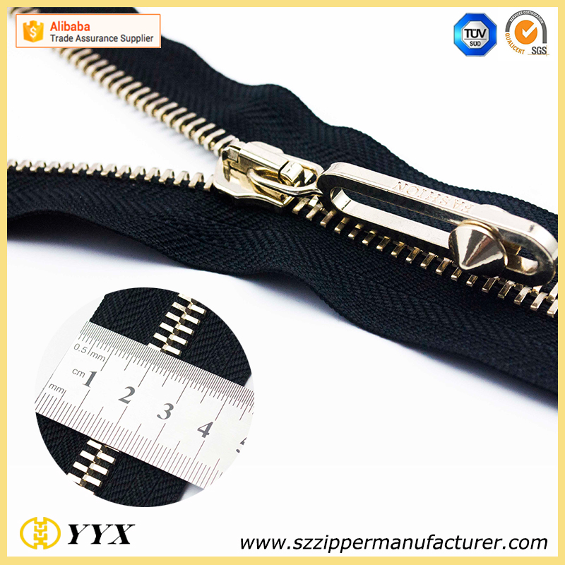 Hot Sale Reasonable Price Key Lock Zipper For Luggage Bags