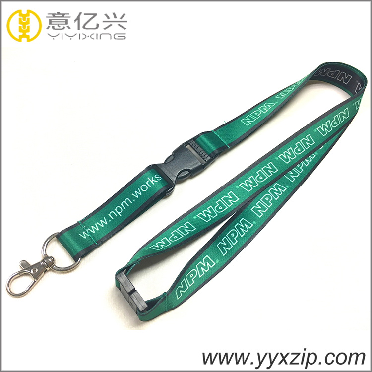 Zipper LanyardSublimation LanyardMobile Phone Lanyardbling Lanyard Nylon Zipper Resin
