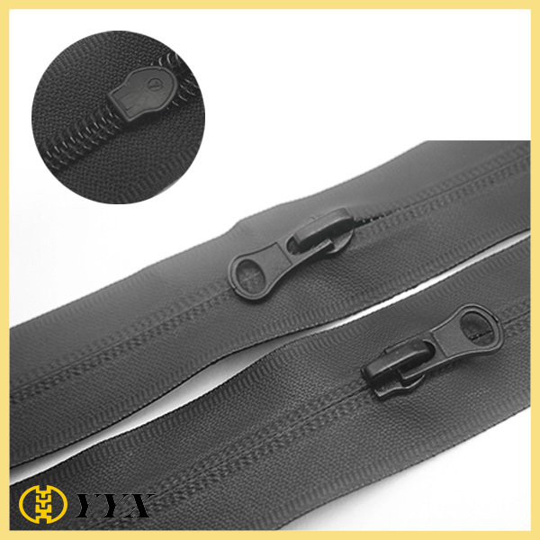 high quality tpu matt finish nylon waterproof zipper