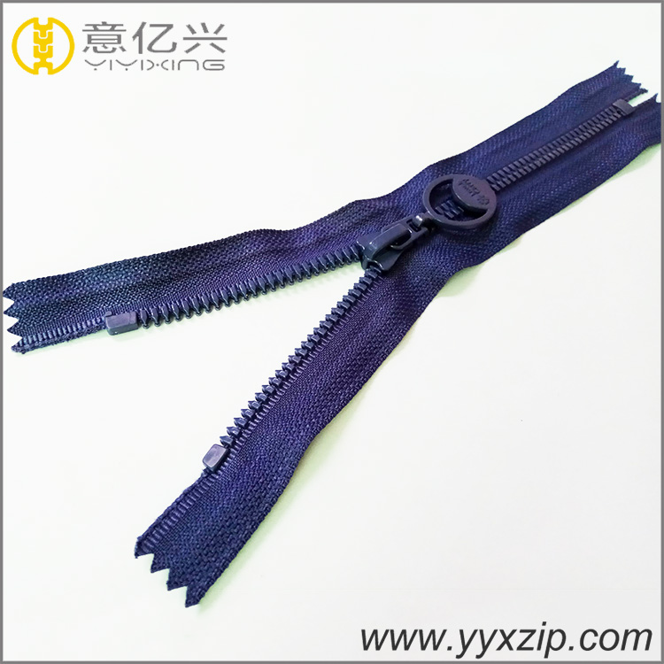 Quality Guarantee Wholesale Open-End Nickel-Free Plastic Nylon Zipper