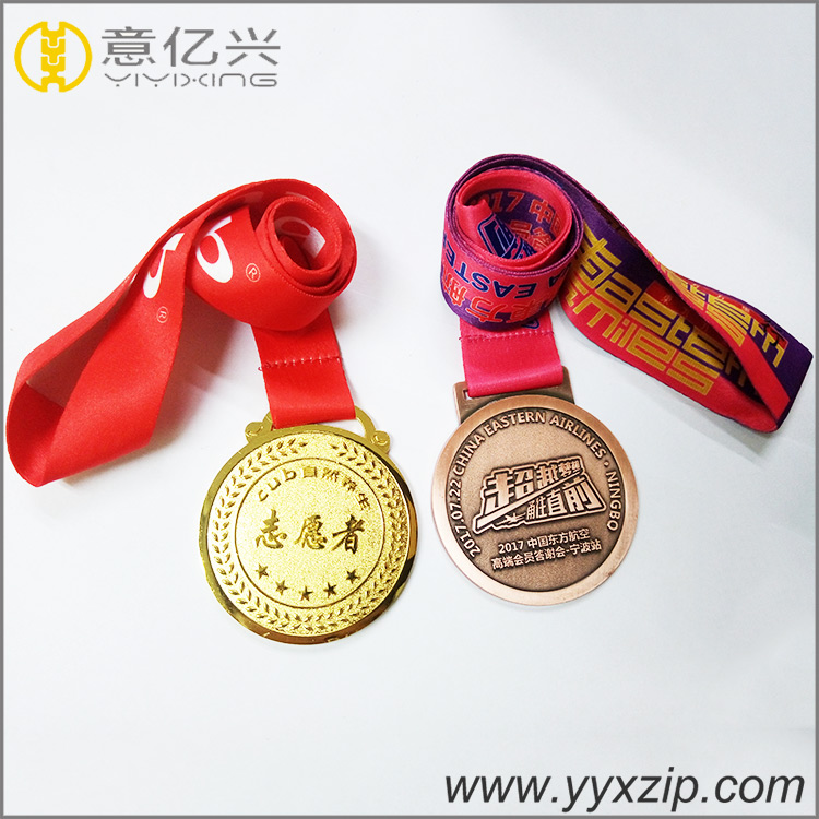 Promotional Cheap Factory Custom Gifts Metal Running Sports Medal