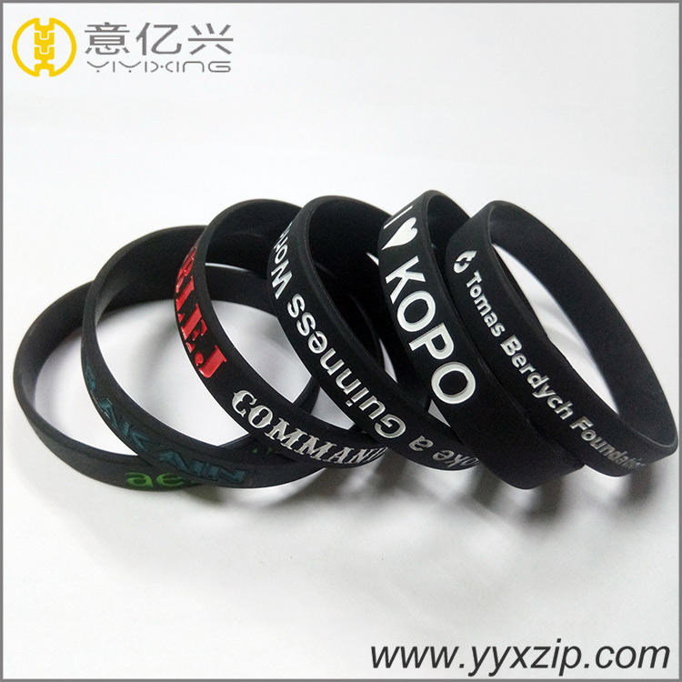 Hot Selling Silicone Wrist Band/Personalized Silicone Bracelets