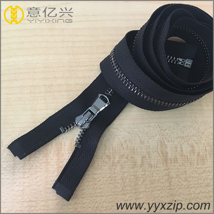 clothing accessories no.5 fashion metal zipper for coat