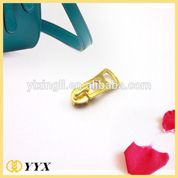 D Ring Zipper Puller Gold Metal Zipper Slider 5# Metal Zipper Slider
