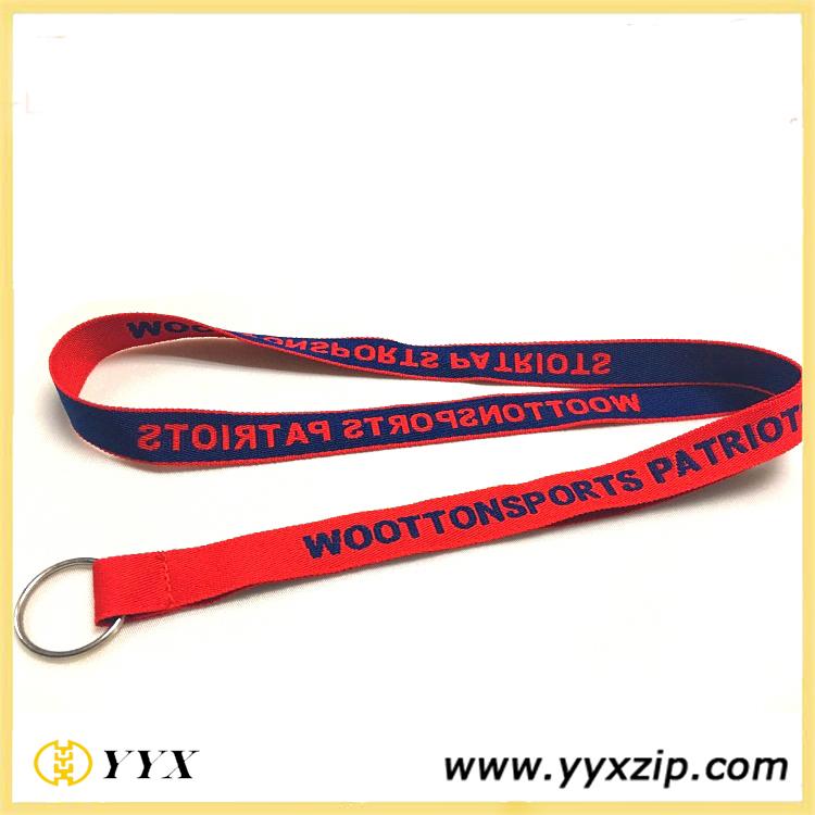 Woven for key card holder tassel lanyard