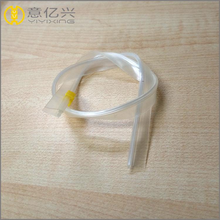 High quality #3 pp pvc tape transparent zipper for pvc bag