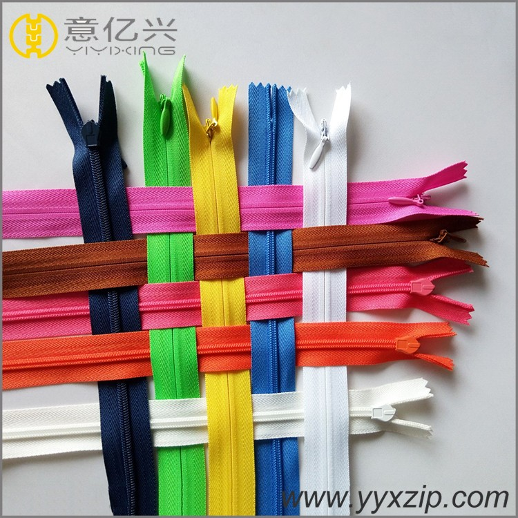 high quality small invisible zipper for dress