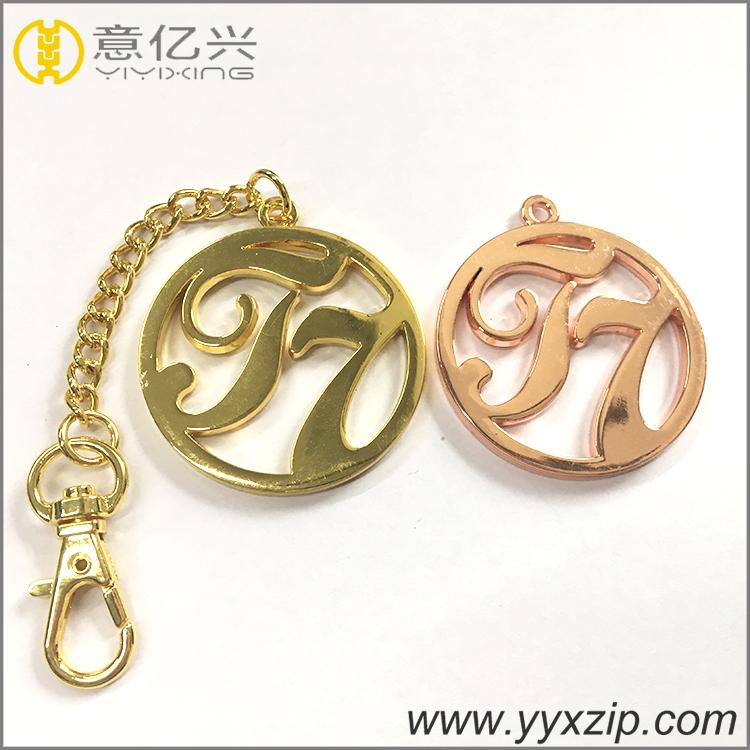 Customized hot sale zinc alloy metal round keychain