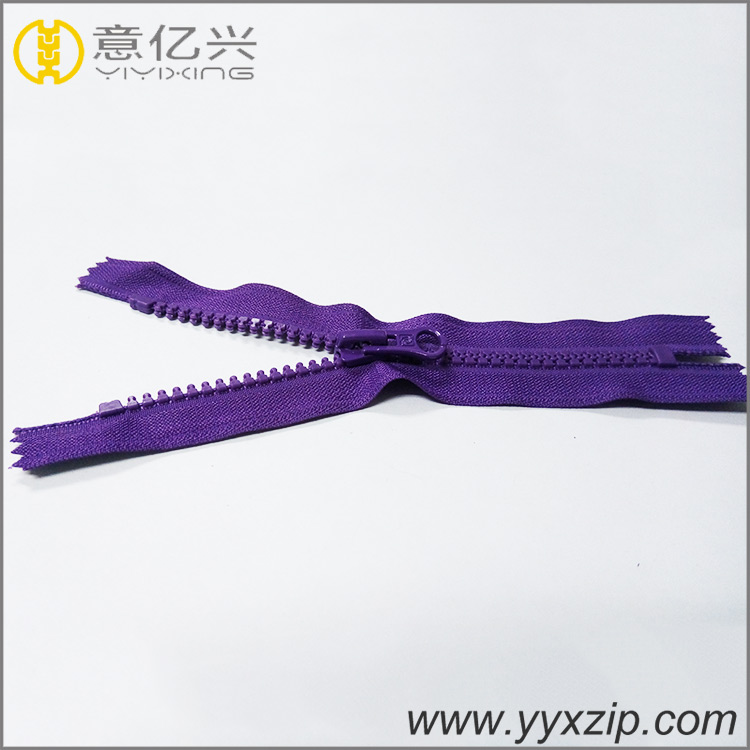Hot sale factory direct price custom long chain resin zipper