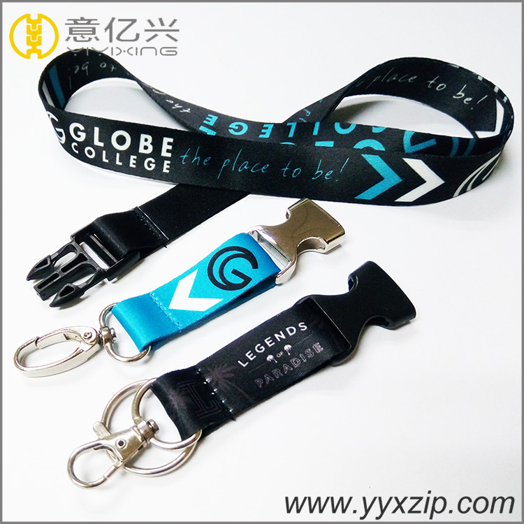 High quality Different Accessory Custom Printed Lanyard