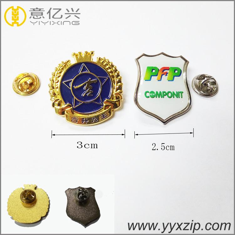 Unique enamel collar pins/ custom die struck metal pins / custom enamel pins