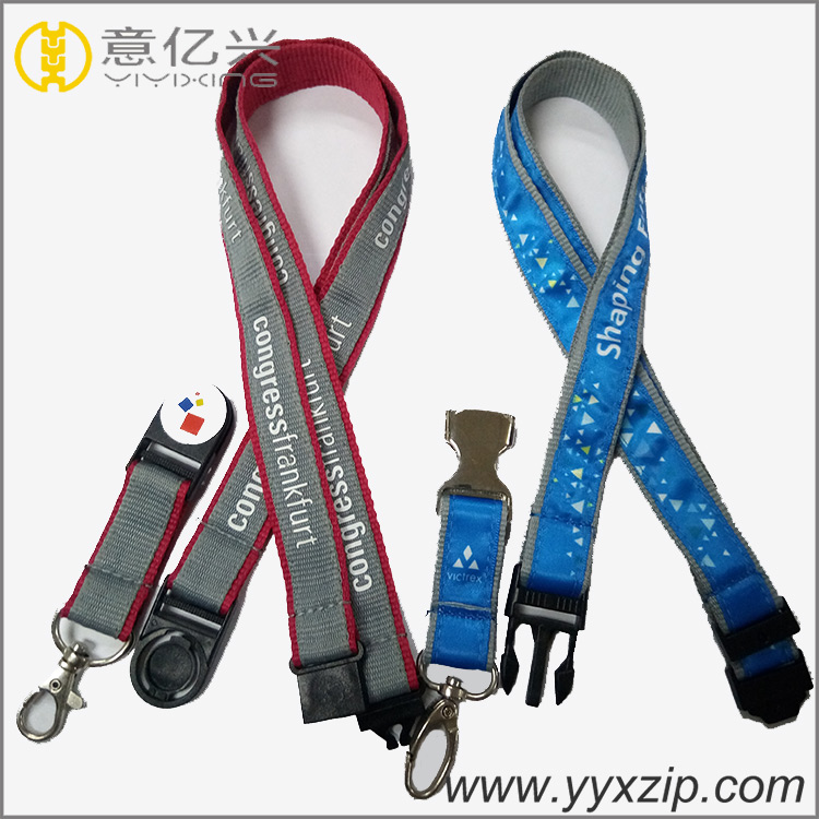 Fashion Business ID Badge Holder Lanyard for Meeting