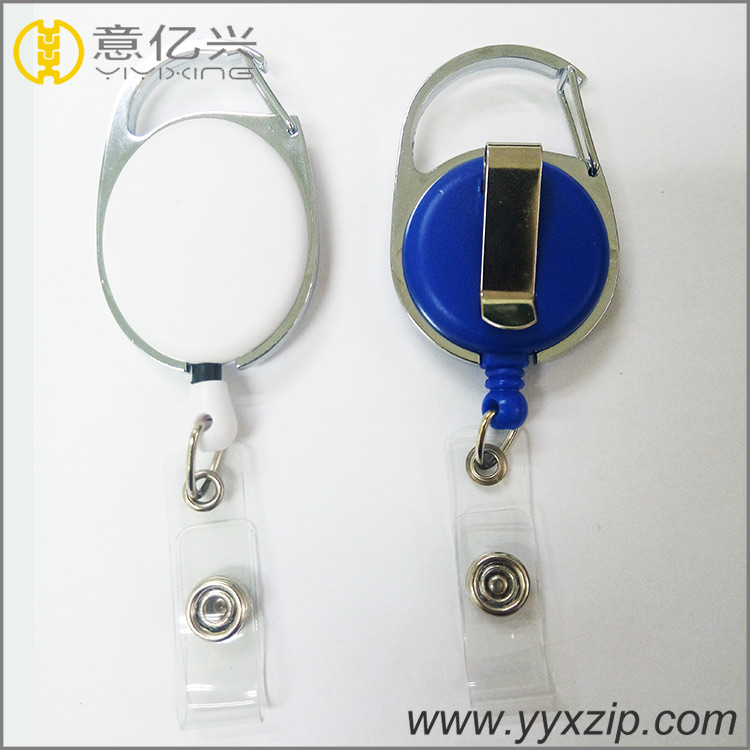 Hot sale newest product metal magnetic badge reels