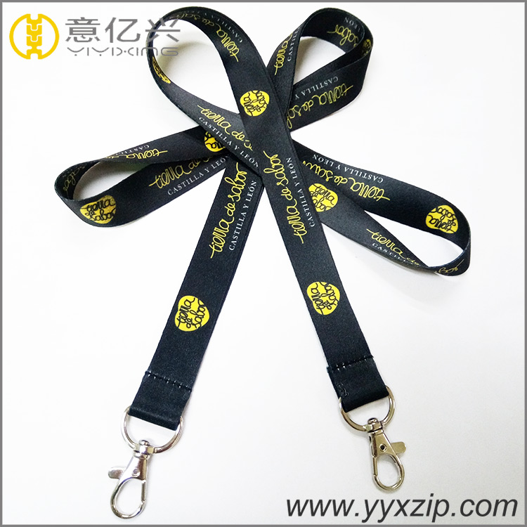 High Quality Cheap Promotion Sublimation Custom Printed Polyester Lanyard