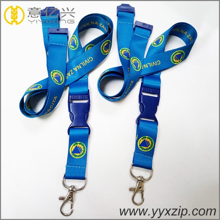 10 year experience cheap sublimation blank lanyards with your logo