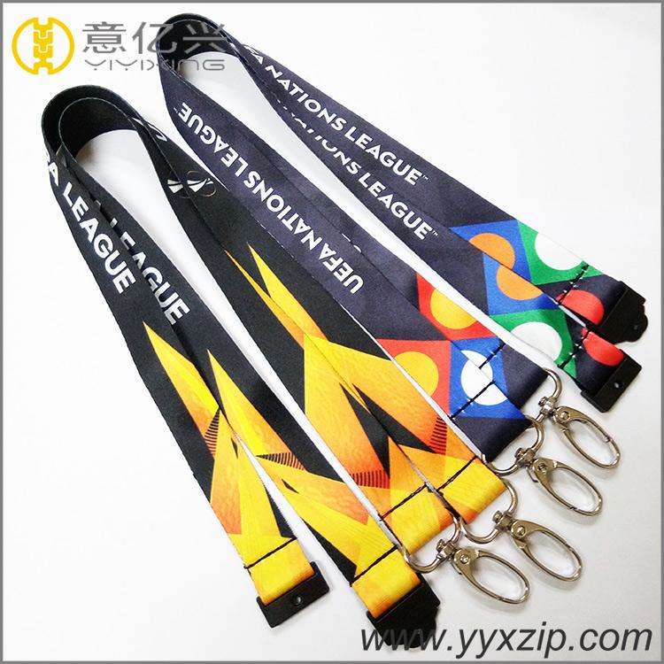 Customised international flag lanyards wholesale