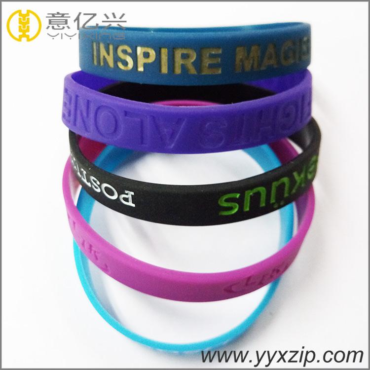 Custom Wrist Band Sports Festival Silicon Wristband
