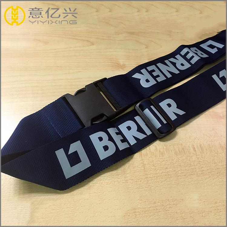 Cheap 3D silkscreen logo lanyards with logo custom aircraft seat belt lanyard