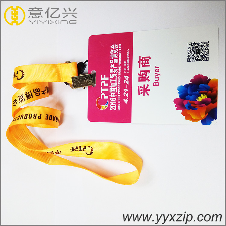 Event breakaway ID card neck lanyards custom the hundreds lanyard for exhibition