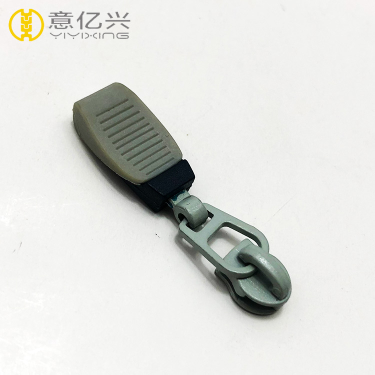 Wholesale bulk custom rubber zipper pull for sport clothing,rubber zipper puller