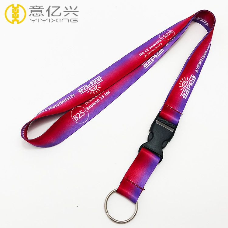 Custom metal split ring and  tool safety lanyards Shenzhen for women