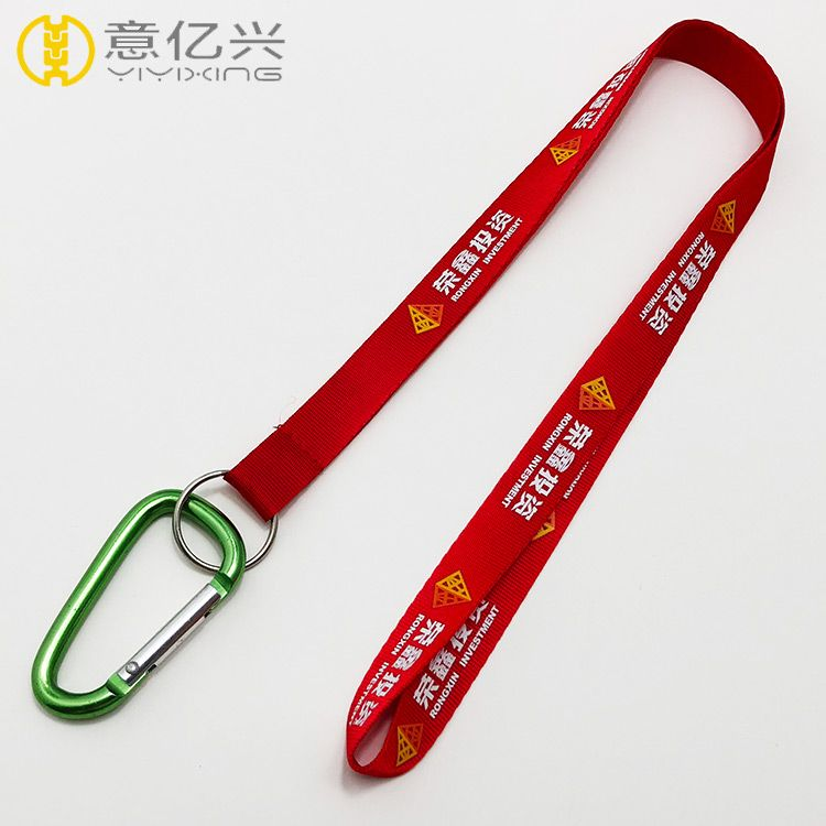 Custom name carabiner lanyards keychain in bulk