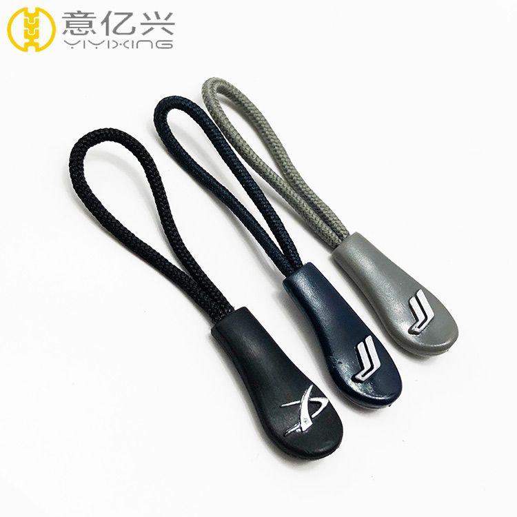 top sale cheap custom rubber zipper pull