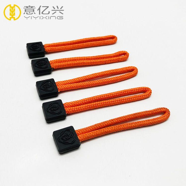 zipper factory supply zipper slider cord zipper pullers for garment