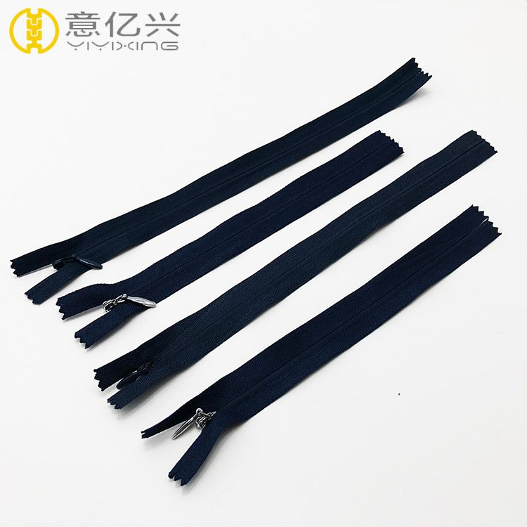 Wholesale china brand nylon invisible clothing zipper