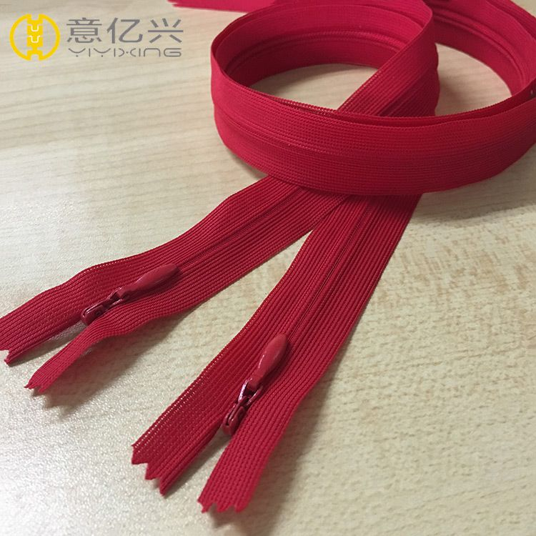 No.3 Nylon Invisible Zipper with Lace Tape