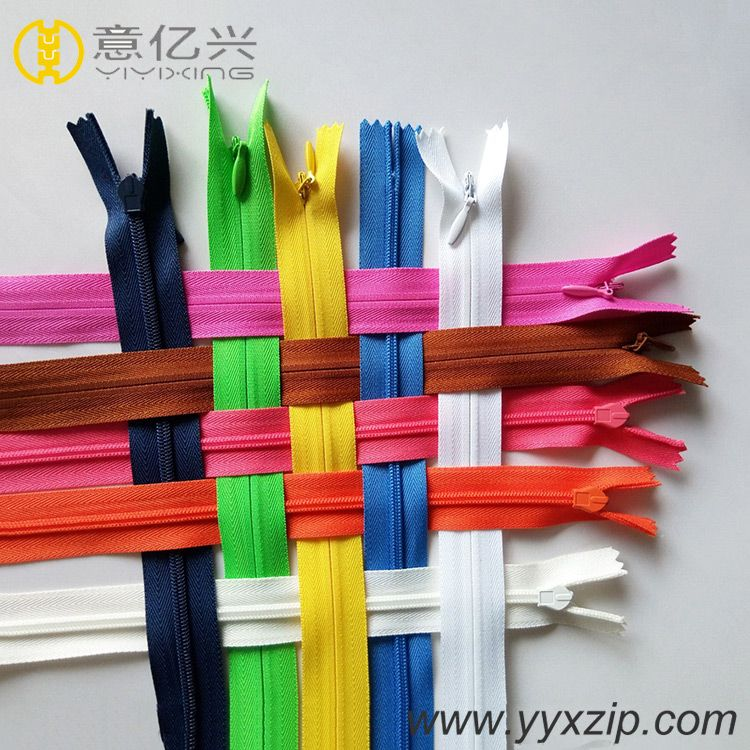 any color invisible nylon zipper for garment