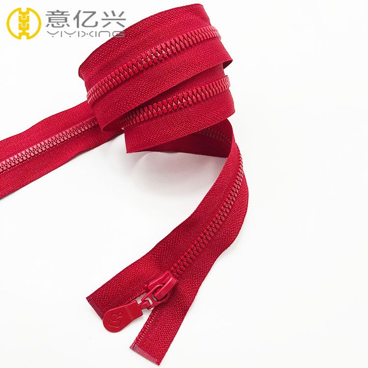 high quality plastic zipper