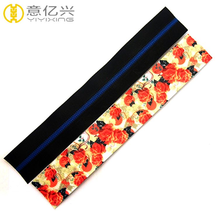 Wholesale colorful reflective tape nylon water resistant waterproof zipper