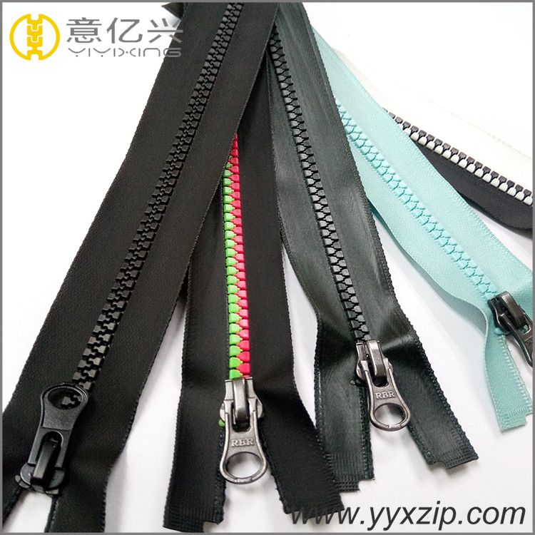 #3 #5 #8 #10 TPU Coated water resistant resin zipper cheap