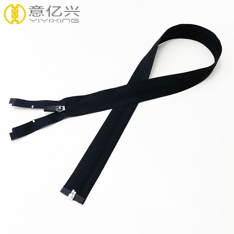 Good quality open end manufacturer plastic nylon zipper