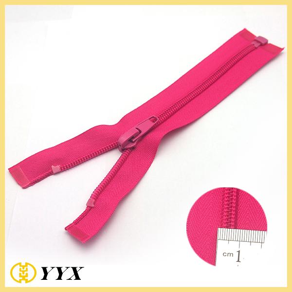 Zipper manufacturer directly supply #3 nylon open end zipper