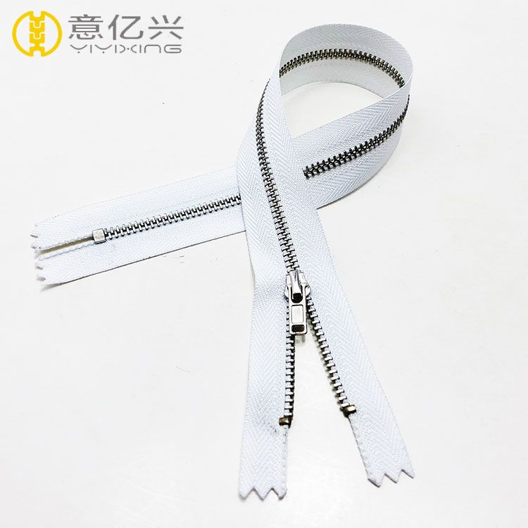 shiny silver teeth and zipper tape #5 high quality zippers