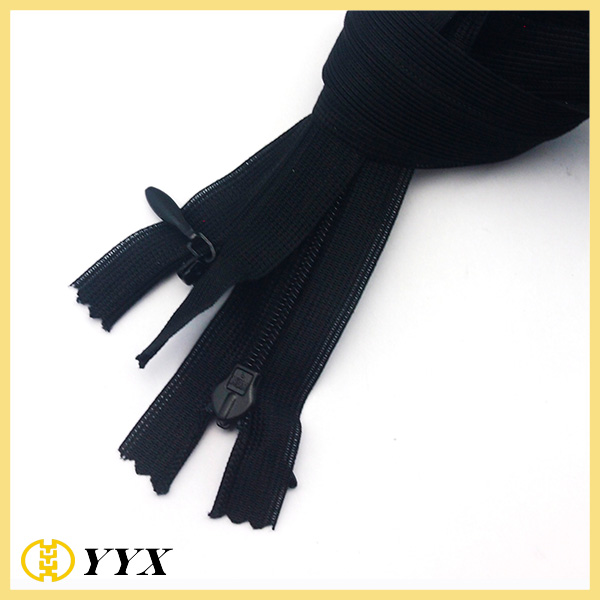 #3 Nylon Hidden Garment Invisible Zipper Wholesale