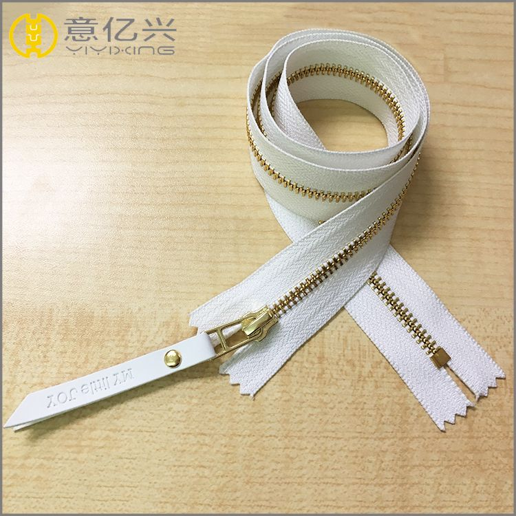 5# long chain metal zipper rolls