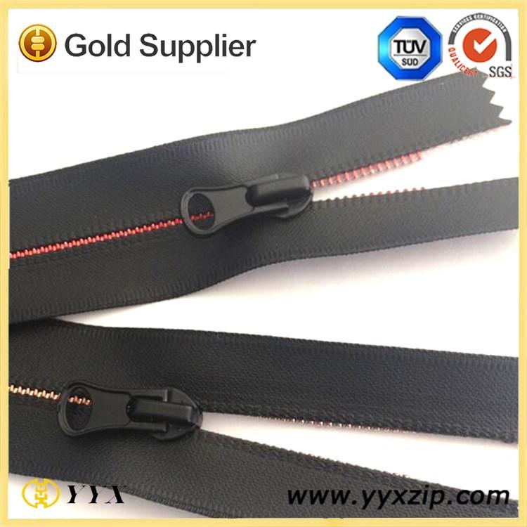 8# Open end waterproof nylon zippers