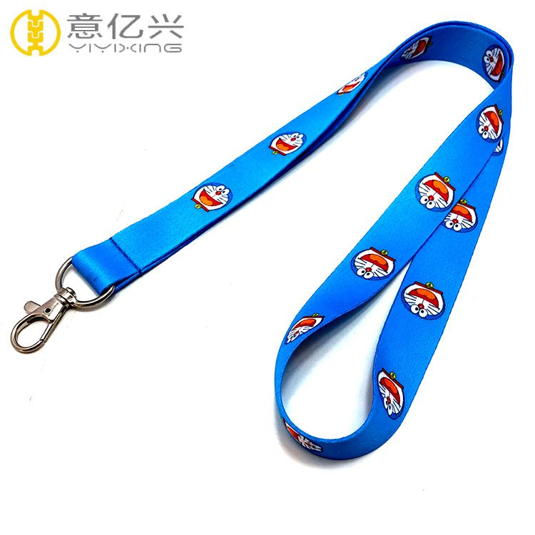 Top sale beautiful polyester sublimation cheap cute lanyard