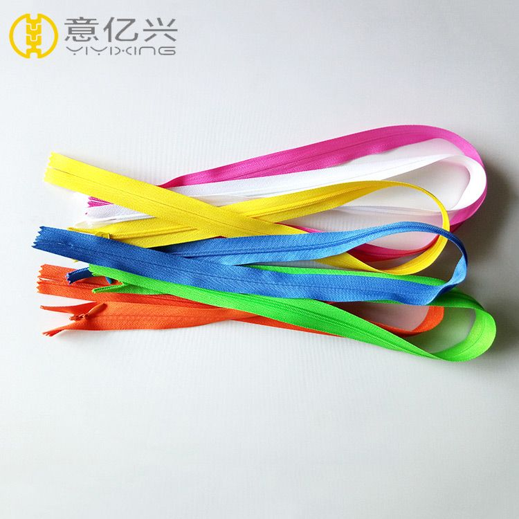factory direct high quality good price nylon invisible zippers for garment