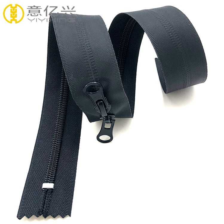 Factory direct sales high quality double zipper TPU waterproof zipper