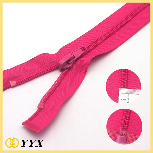 Widely-used Locking Head Open end Nylon Zipper for Sale