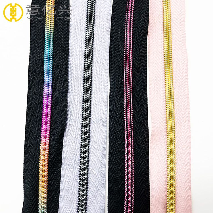 Wholesale Nylon Long Chain Zipper In Rolls