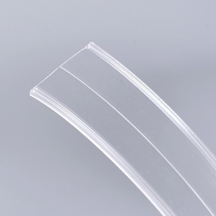 Wholesale cheaper clip style PVC zipper for cosmetic bag