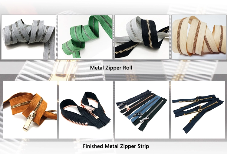 Zipper for sewing